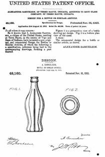 Coca Cola Patent